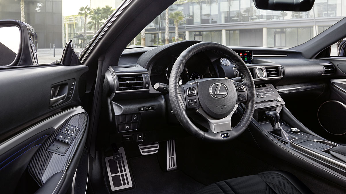 hight resolution of how to turn it on blind spot monitor u2013 north park lexus at dominionlexus rcf