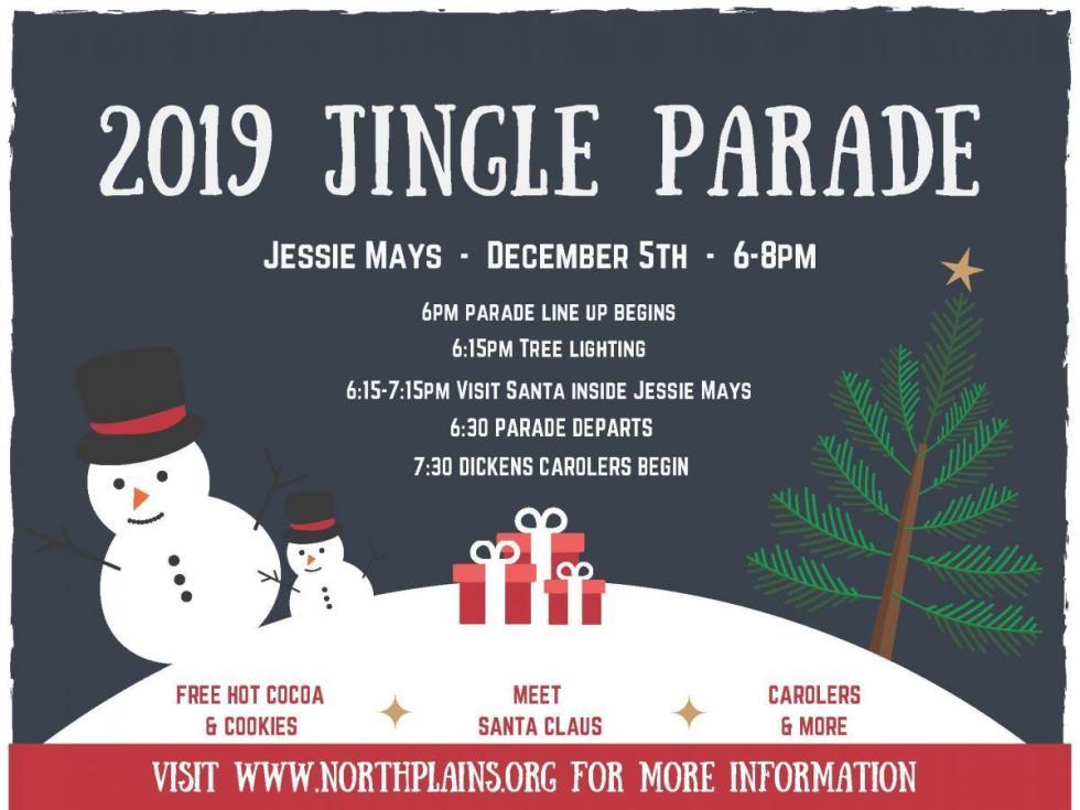 Jingle parade 2019 flyer