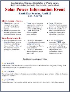 Solar Earth Day 2018