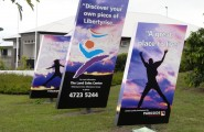 Liberty Rise Display Signs