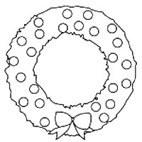 wreath template # 13