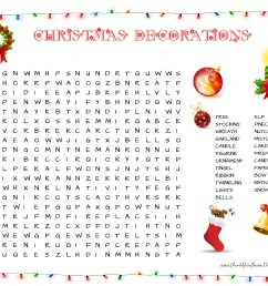 37 Free Christmas Word Search Puzzles for Kids [ 2550 x 3300 Pixel ]