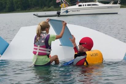 Opti capsize 3