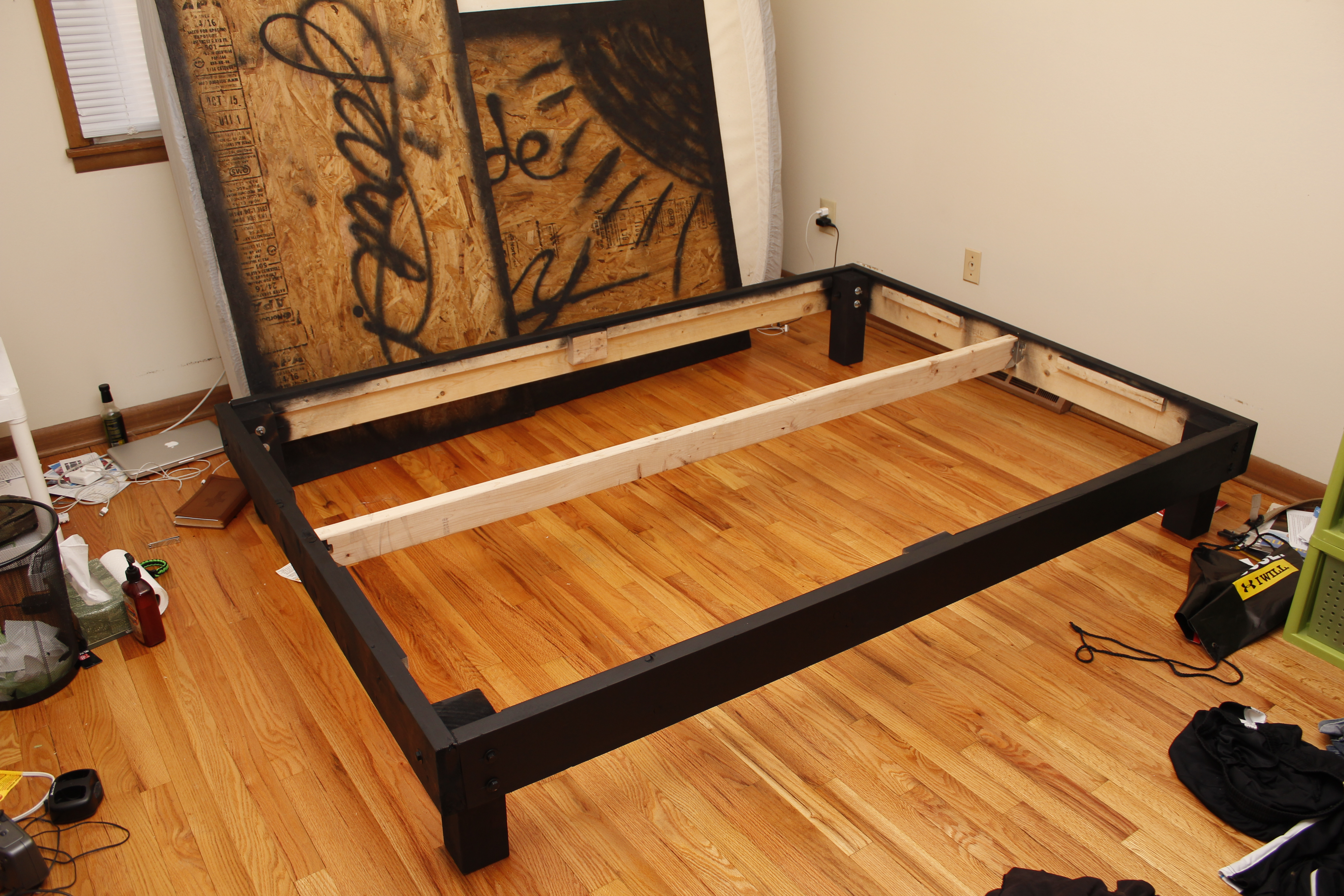 Diy Queen Size Platform Bed