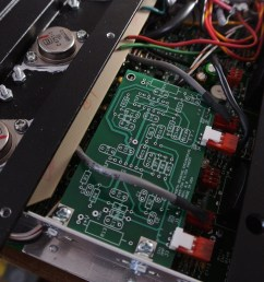 d45 75a reworks vintage crown amplifier repairs and restorations power supply reworks recaps repairs rebuilds including chassis hardware replacement  [ 1162 x 778 Pixel ]