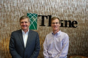Pat McCann,CEO and Partner of North Risk Partners (left) and Mark Thune, president of Thune Insurance Network and Partner of North Risk Partners (right)