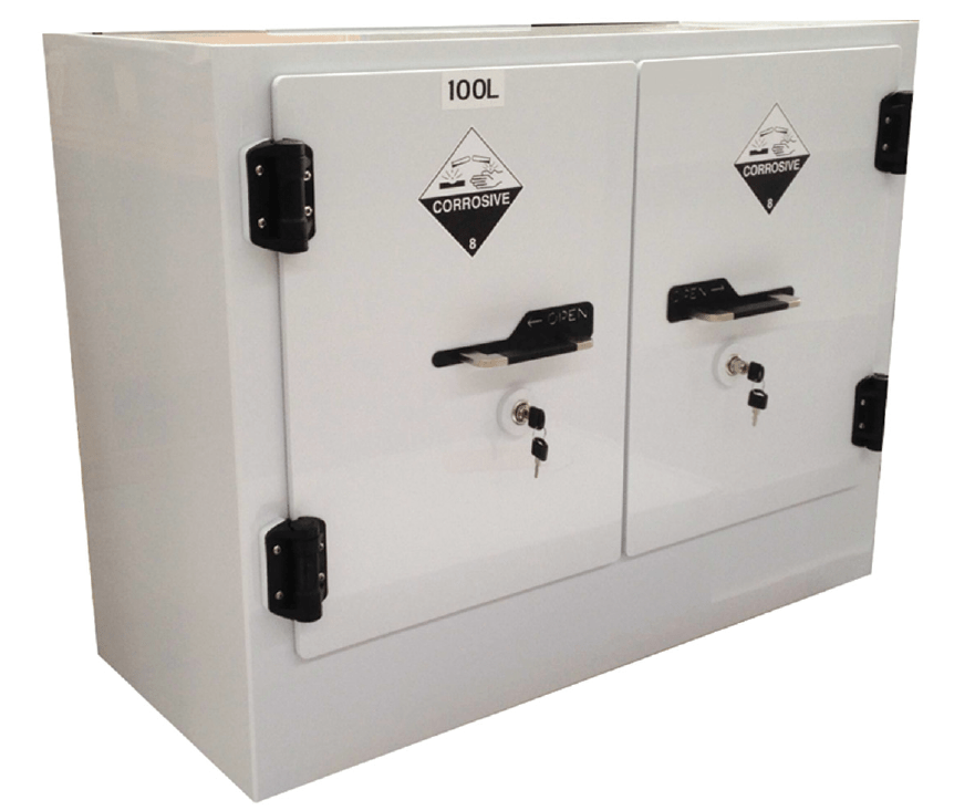 Northrock Safety  Poly Corrosive Chemical Storage