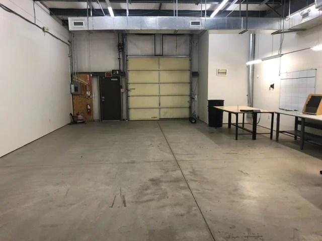 Suite 1803 - docking door (inside)