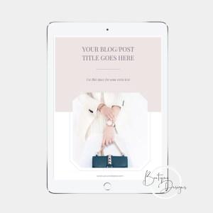 Blog and Pinterest Templates