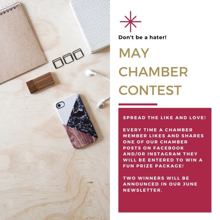 MAY CHAMBER CONTEST