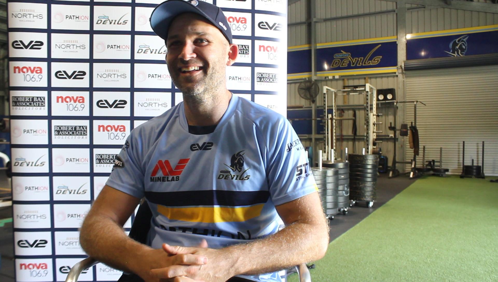 Preseason interview with Rohan Smith