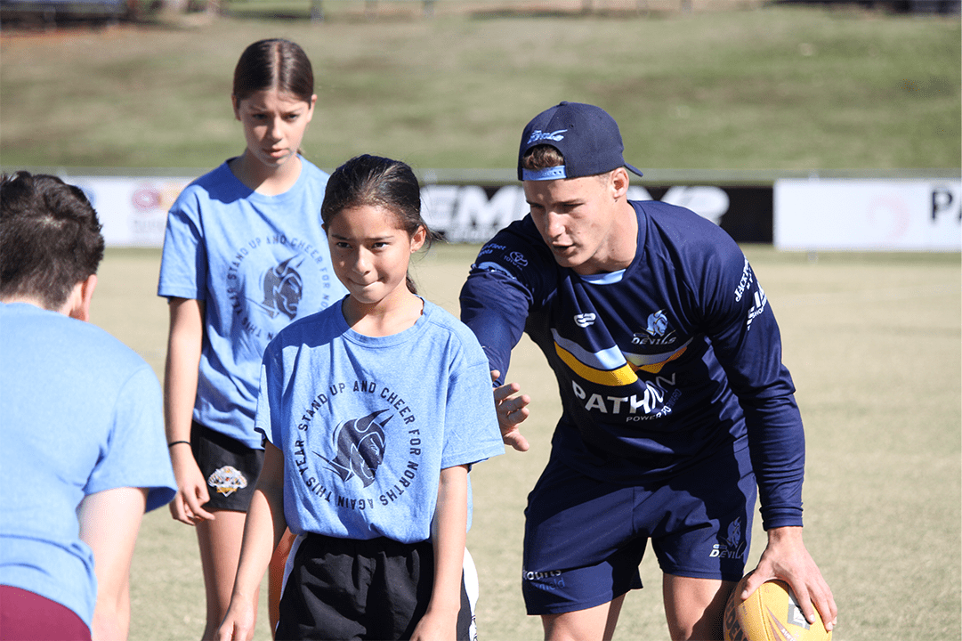 Norths Devils Girls Clinic