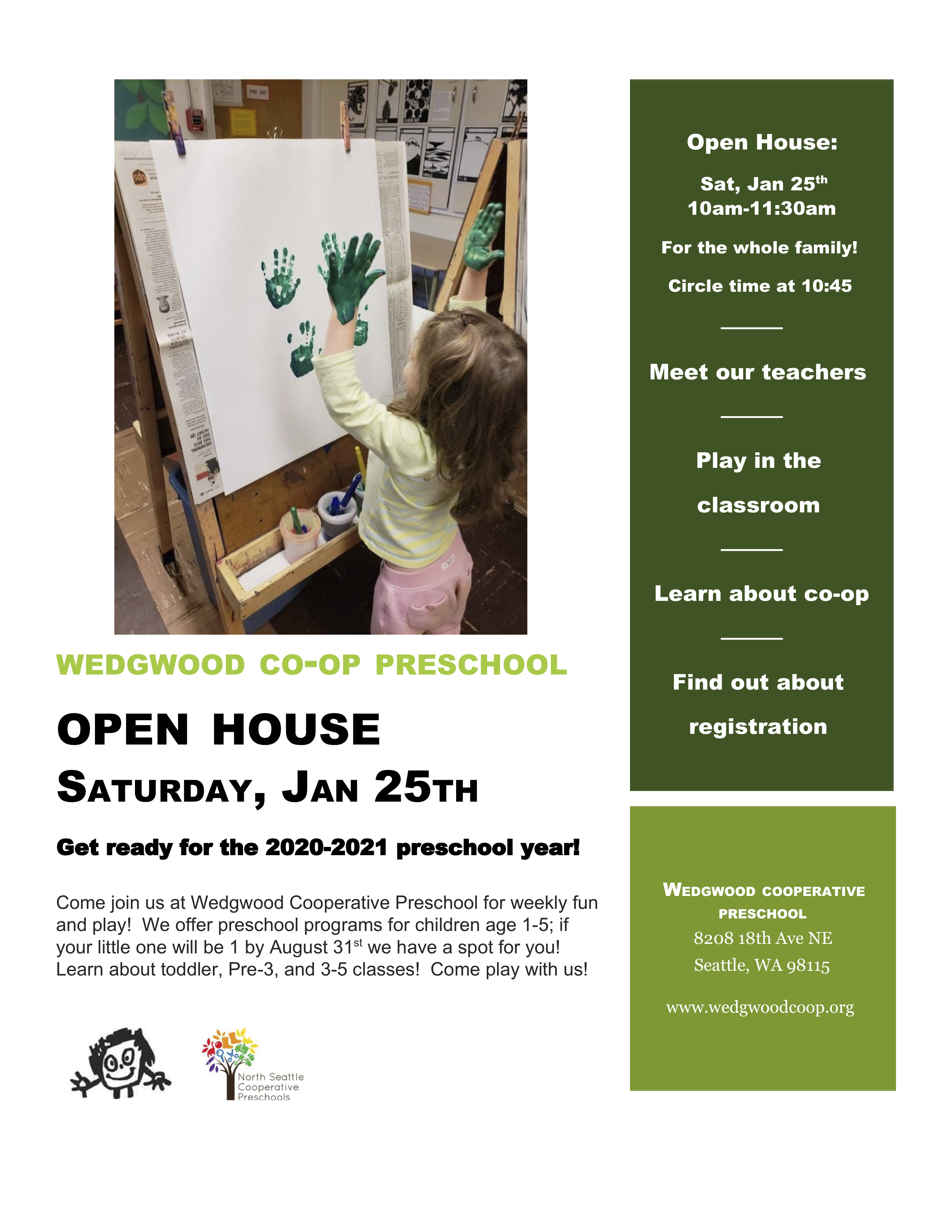 Wedgwood Open House 1/25