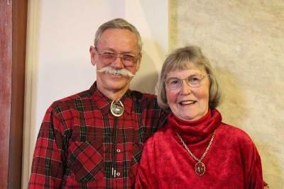 Ernie and Muriel Ostrin