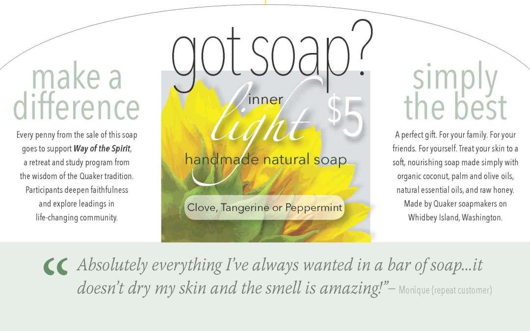 Handmade Natural Soap benefits Way of the Spirit
