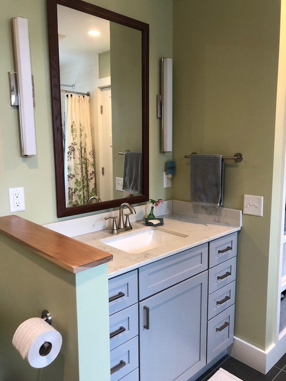 Winooski Vermont Bathroom Remodel