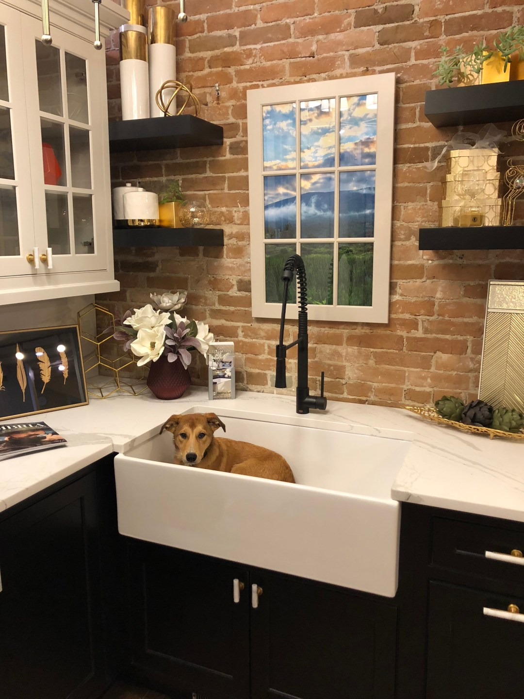 Bromley in the Kitchen Farmhouse Sink