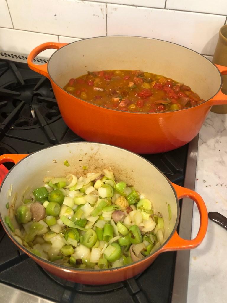 kitchen cooking sauce gravy italian food manchester vermont dutch oven le cruset