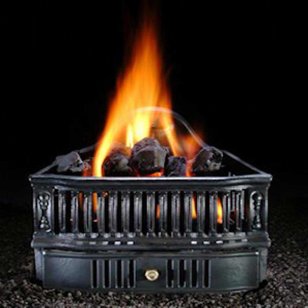 Realistic Coal Basket Vented Fire  Northshore Fireplace
