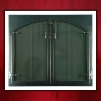 Oil Rubbed Bronze Fireplace Door - Northshore Fireplace
