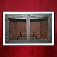 Contemporary Fireplace Door - Northshore Fireplace