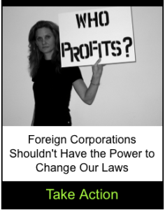 Foreign corporations shouldn't have the power to change our laws
