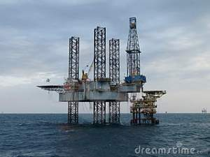 Off-Shore Drilling Rig