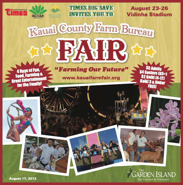 Kauai Country Farm Bureau Fair 2012