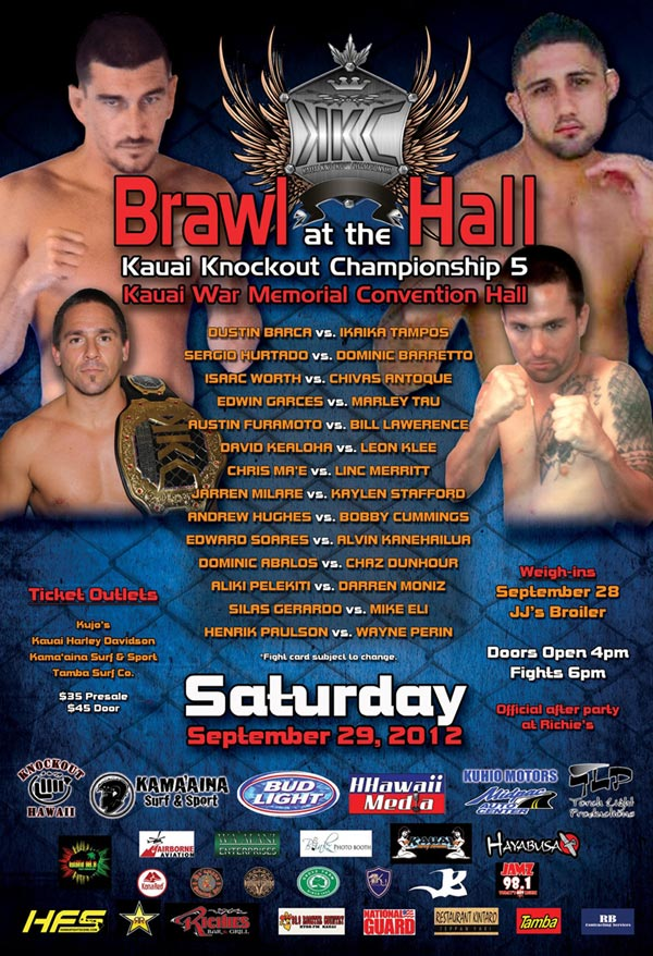 Brawl at the Hall