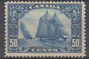 Bluenose ManOnMast
