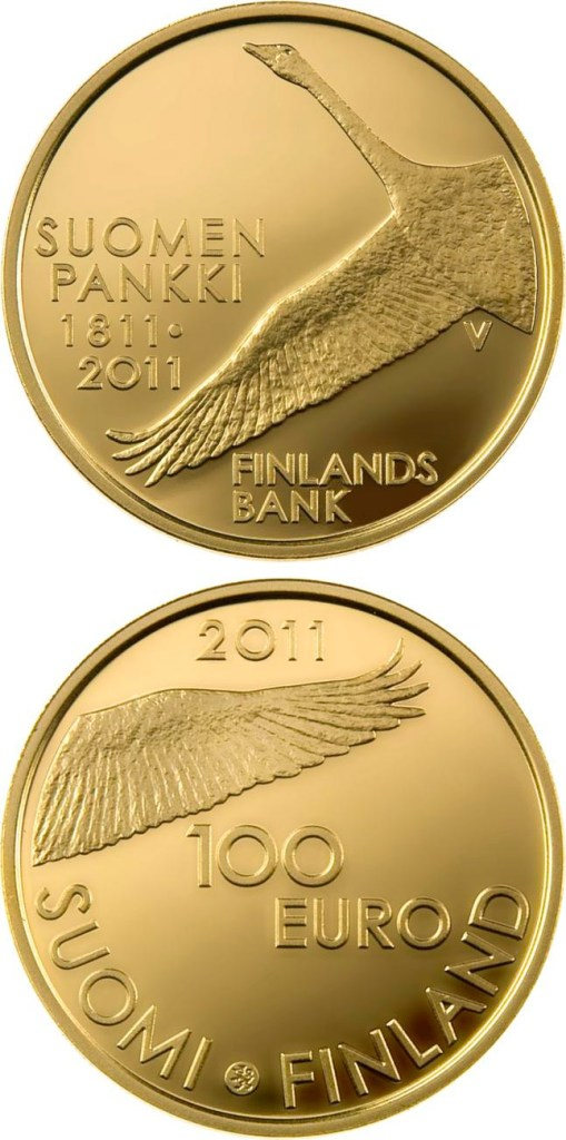 100 euro: Bank of Finland 200 years