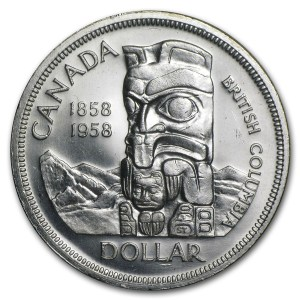 1958 British Columbia dollar
