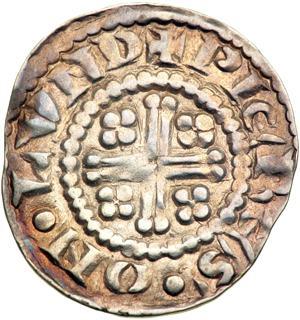 Henry II Short Cross Penny Class 1b r