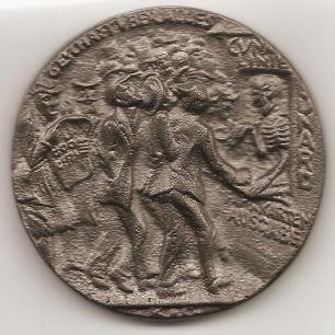Lusitania Medal - Reverse