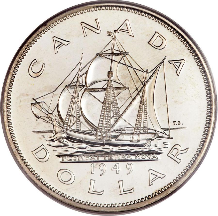 Canada 1949 Dollar