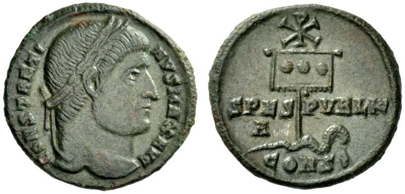 AE Follis Constantine I