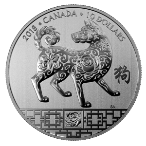 Canada 2018 Year of the Dog