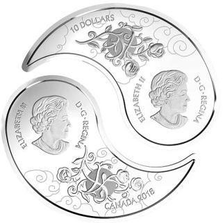 Yin Yang Coin - Obverse