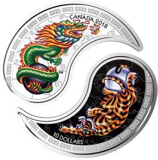 Yin Yang Coin - Reverse