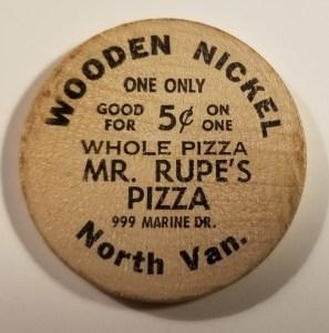 Mr. Rupe's Pizza North Vancouver