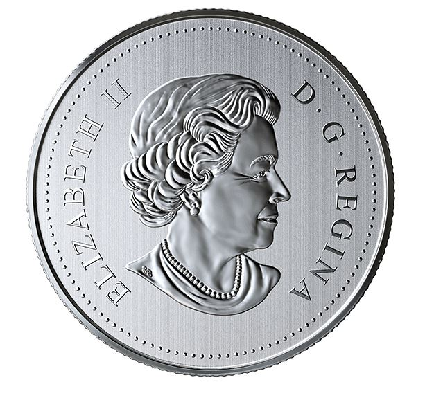 Obverse Her Majesty the Queen