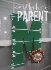 Football Door Decoration - Northshore Parent