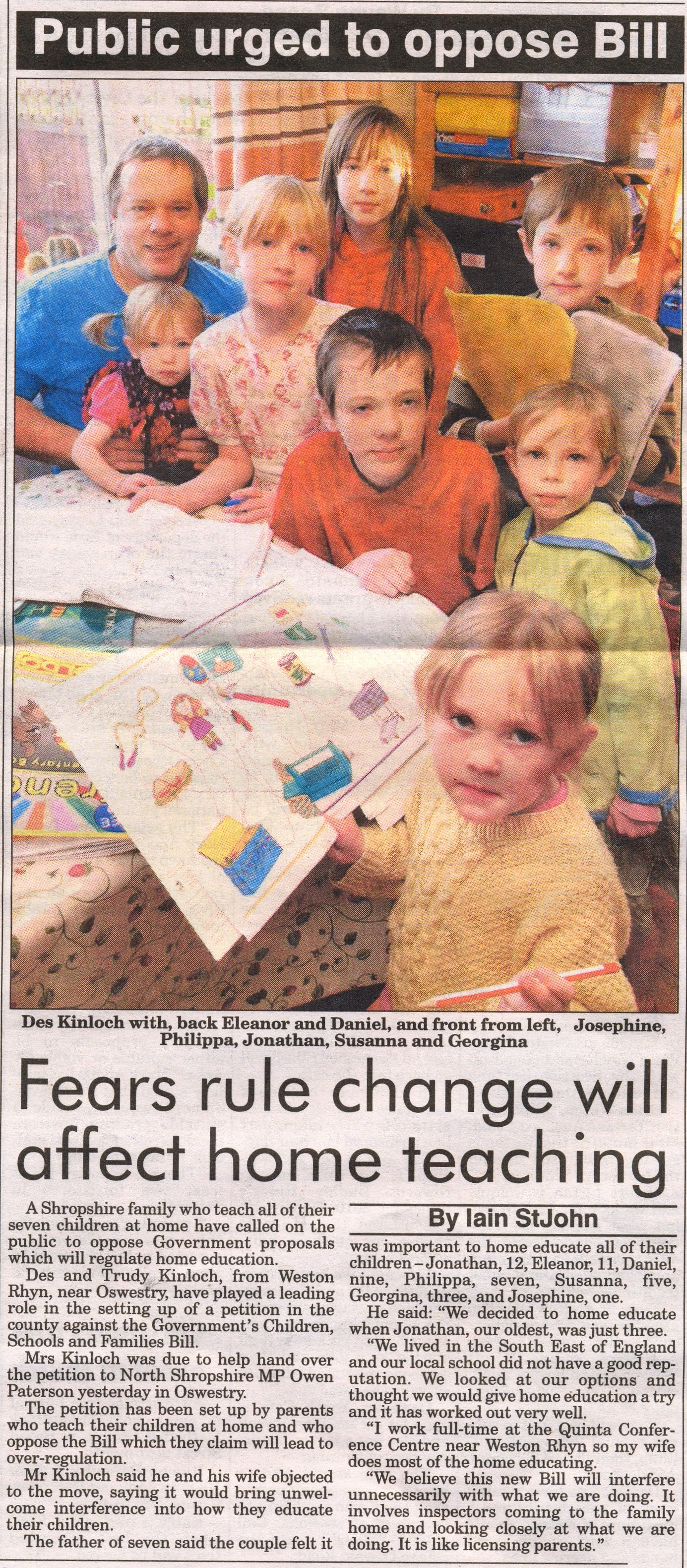 Shropshire Star - Article 9 November 2009
