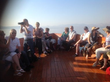Sailing across the Galilee