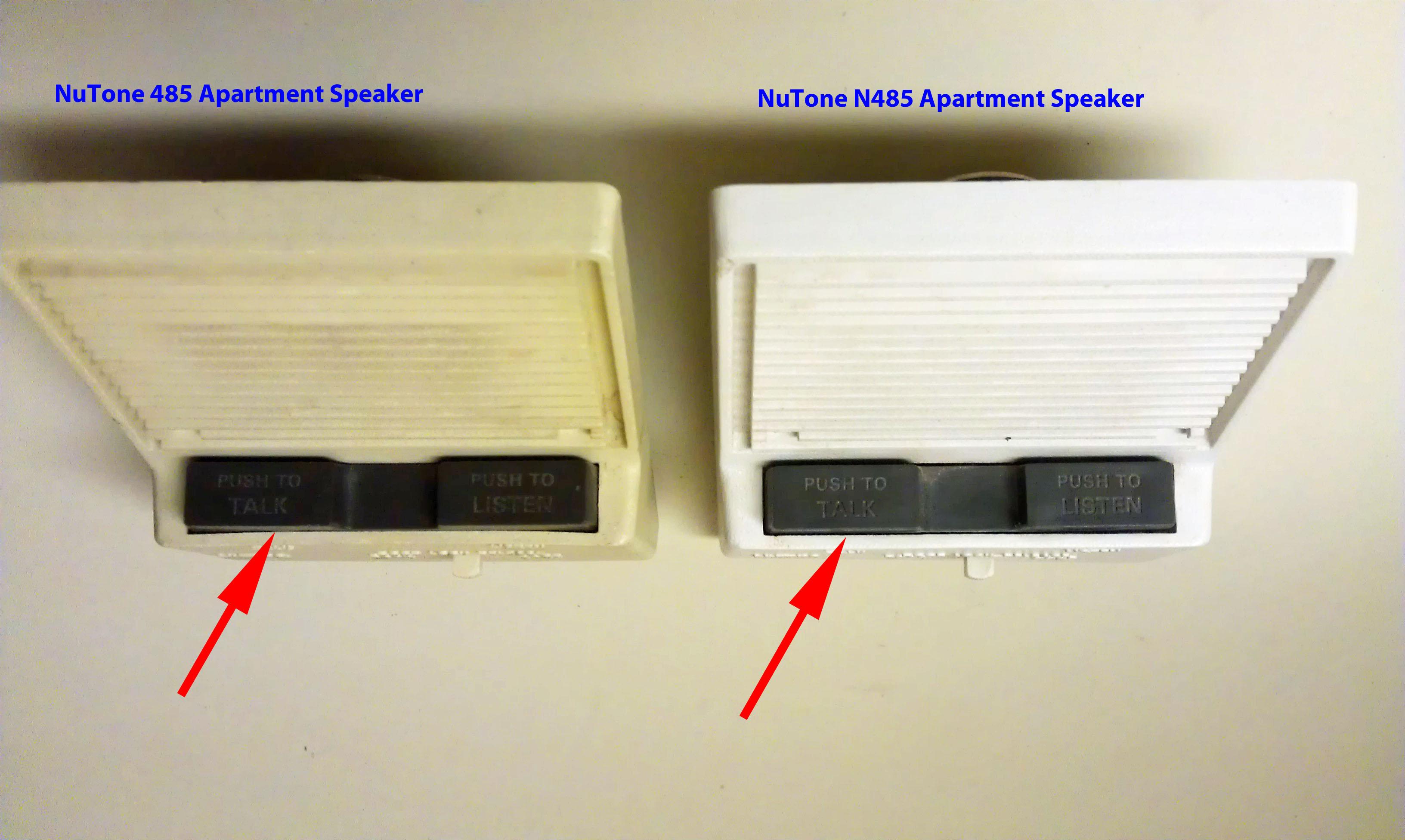Site - Apartment Entry Intercom Systems Nutone
