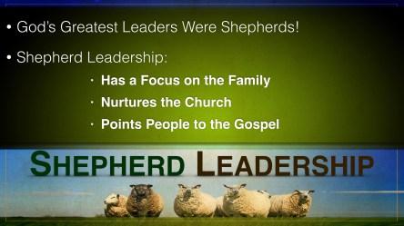 Shepherd Leadership Points Slide