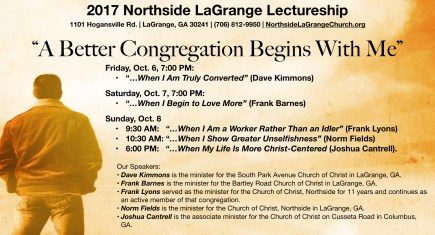 2017 Northside LaGrange Lectureship