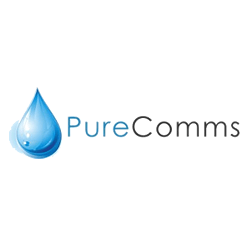 Pure Comms logo
