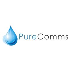 Pure Comms logo