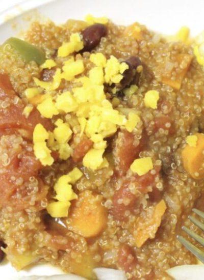 Quinoa Chili - vegan and gluten-free